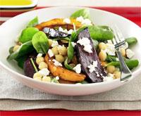 Chickpea, Beetroot & Pumpkin salad