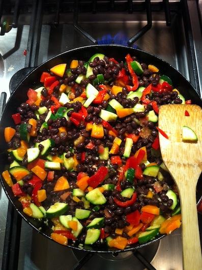 San Francisco Style Vegetarian Buritto's