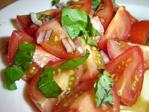 Dominic's Seasonal Tomato Salad
