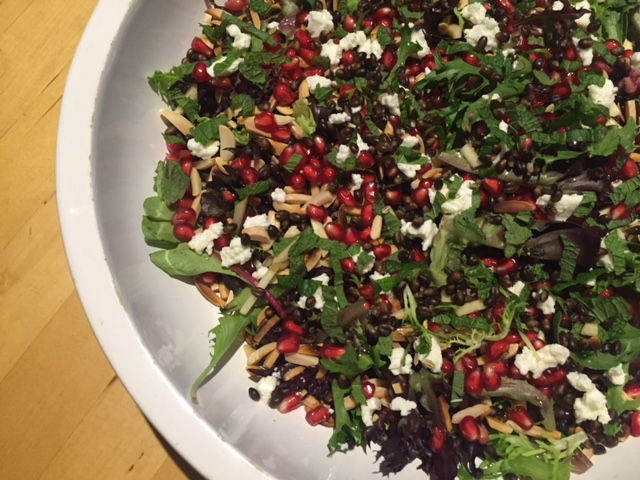 barley-pomegranate-salad