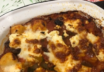 Baked Gnocchi with Pumpkin and Ricotta