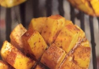 Bob Hart's BBQ Mangoes with coconut sugar